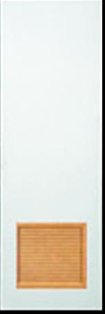 HDF Flush Door w/ Loover