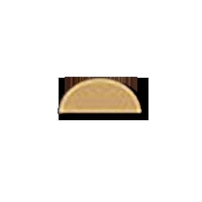 Half Moon 1/2x1