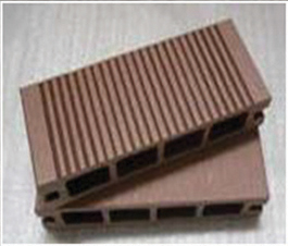 WPC Hollow Decking Size: 100mm*25mm