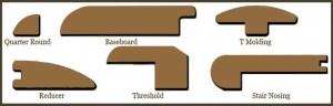 Accessories of Engineered wood flooring